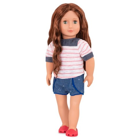 Our Generation Regular Doll with Beach Outfit - Shailene - image 1 of 3