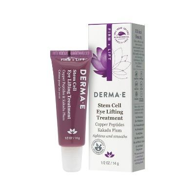 DERMA E Stem Cell Eye Lifting Treatment – 0.5 oz