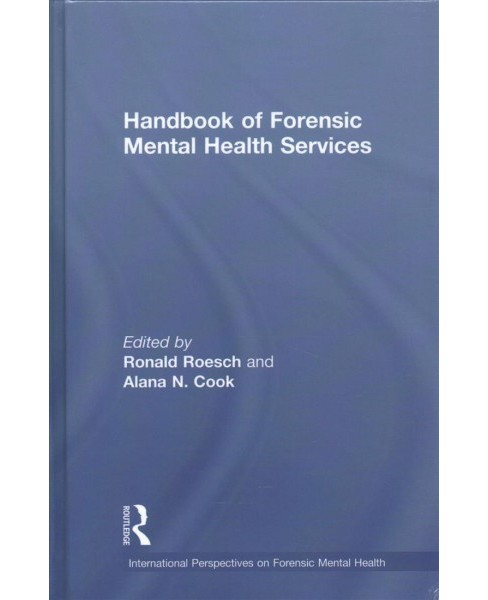 Handbook of Forensic Mental Health Services (Hardcover) - image 1 of 1