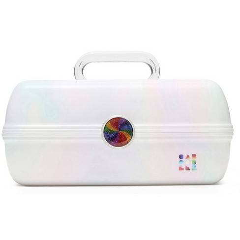 Caboodles On The Go Girl Makeup Case - White - image 1 of 3