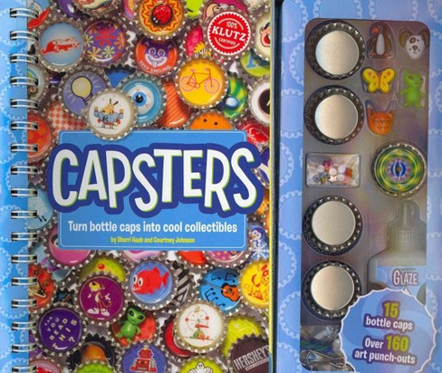 Capsters : Turn Bottle Caps into Cool Collectibles (Paperback) (Sherri Haab) - image 1 of 1