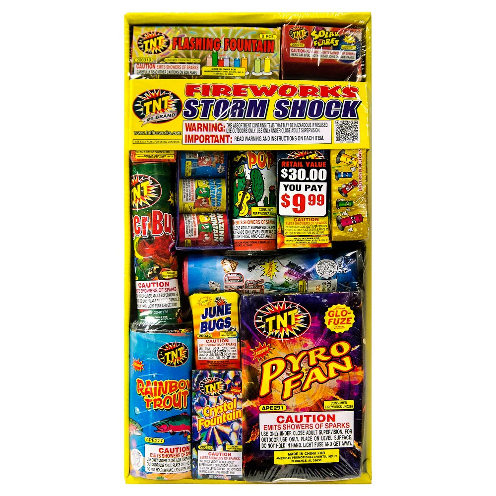 Image of Tnt Fireworks Multipack, Multi-Colored