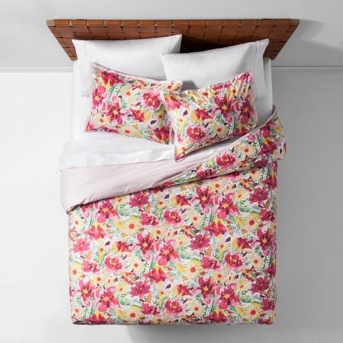 Bogaterra Floral Reversible Duvet Cover Set - Opalhouse™