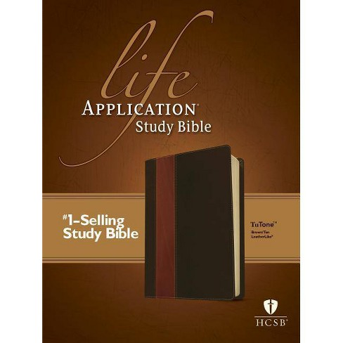 Life Application Study Bible-HCSB - (Leather_bound) - image 1 of 1