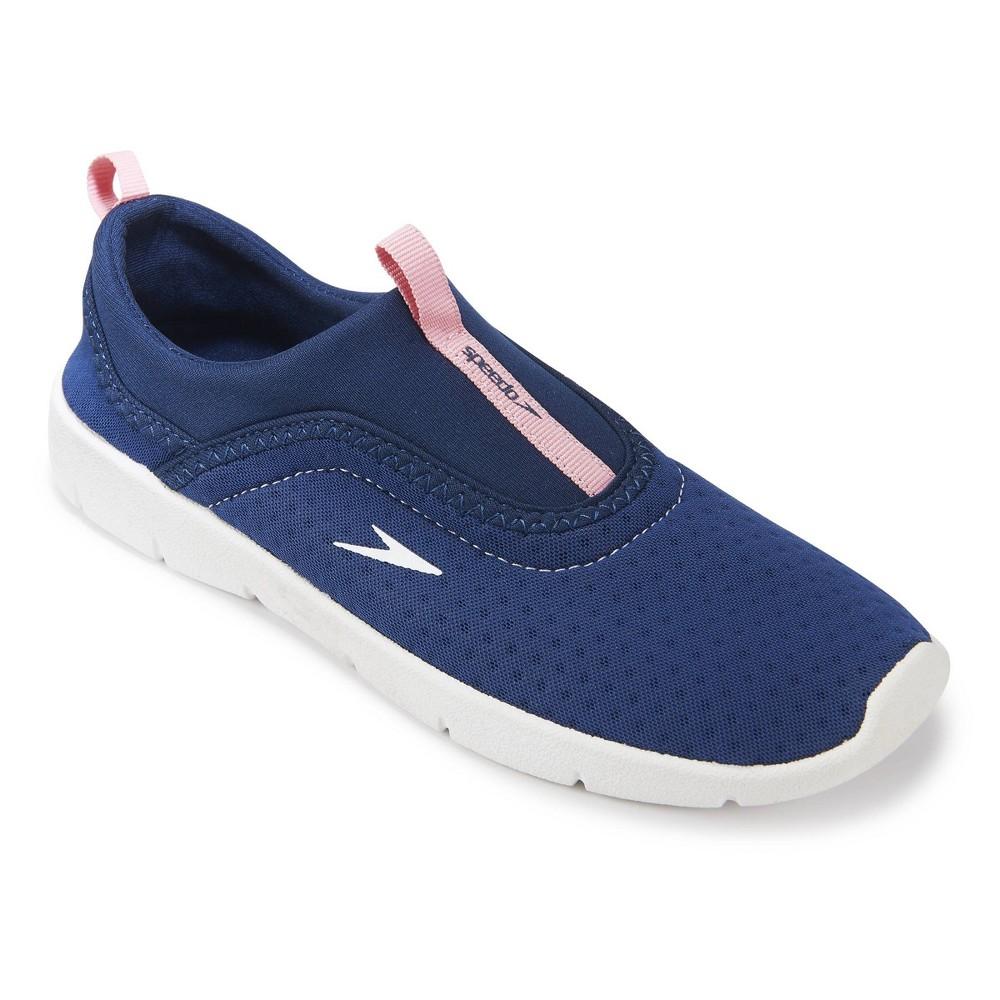 Speedo Youth Water Shoes Medium - Navy (Blue), Boy's