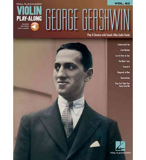 George Gershwin : Includes Downloadable Audio (Paperback) - image 1 of 1