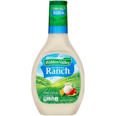 Hidden Valley Original Ranch Salad Dressing & Topping - Gluten Free - 16oz Bottle - image 1 of 4