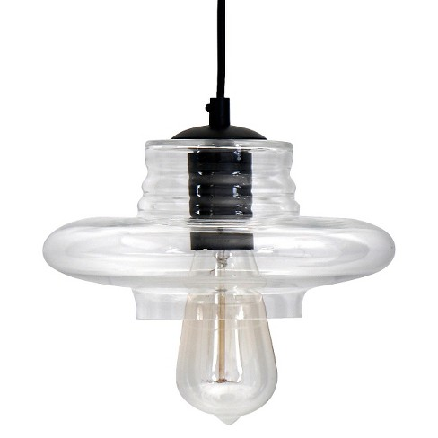 Lumisource Glass Hanging Torus Saucer Pendant Lamp - image 1 of 3