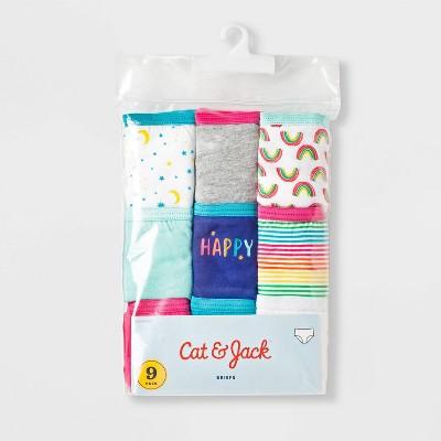 Girls' 9pk Classic Briefs - Cat & Jack™ Purple 6