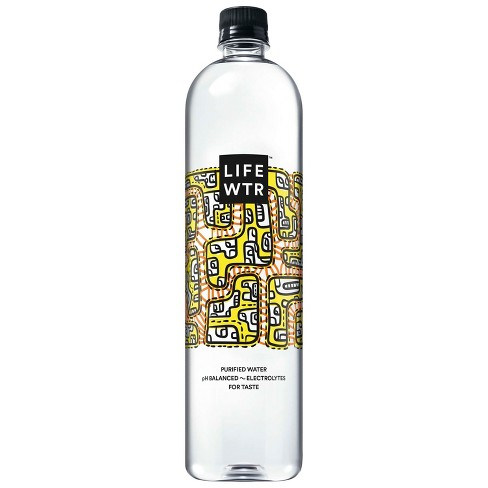 LIFEWTR Purified Water - 1 L Bottle - image 1 of 4