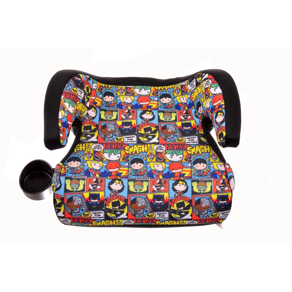 Image of KidsEmbrace DC Comics Justice League Chibi Backless Booster Car Seat