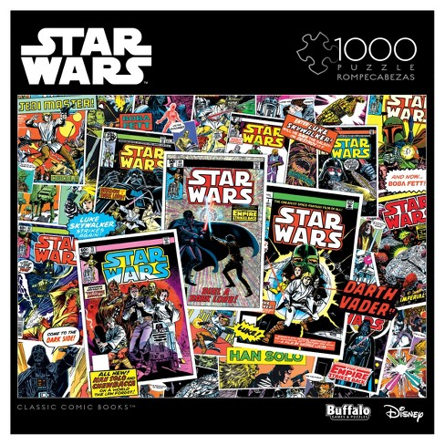 Classic Comic Books Star Wars 1000pc Puzzle - image 1 of 3