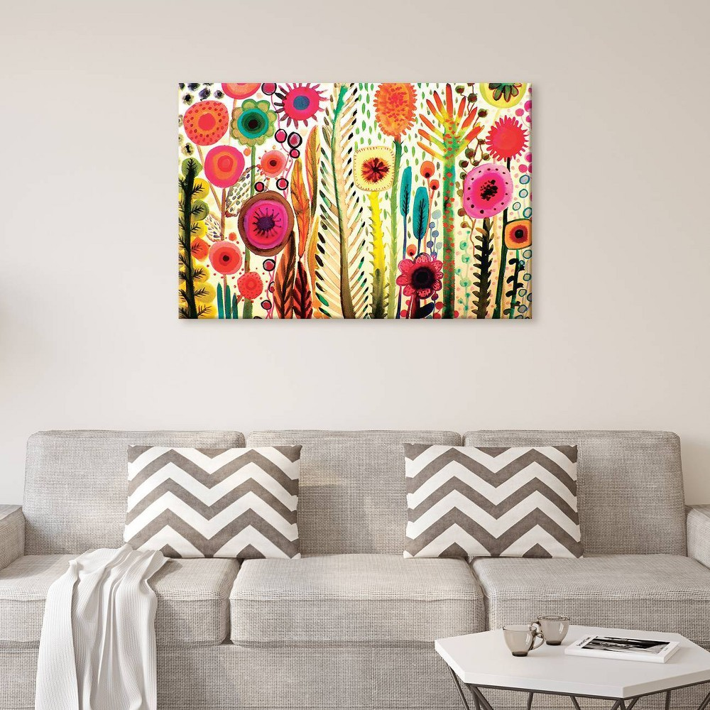 """Image of """"12""""""""x18"""""""" Printemps by Sylvie Demers Unframed Wall Canvas Print - iCanvas, Pink"""""""