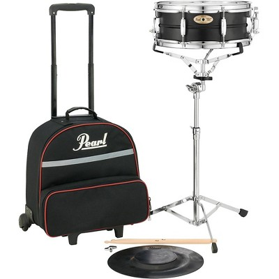 Pearl SK910C Educational Snare Kit with Rolling Cart 14 x 5.5 in.