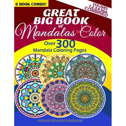 80 Relaxing Word Search Puzzles /& Mandalas Coloring Pages The Ultimate SPANISH Activity Book For Adults Large Print VOL.2