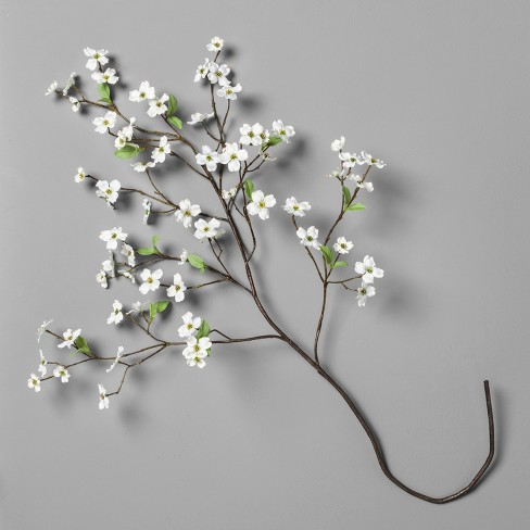 "White Dogwood Stem (46"") - Hearth & Hand™ with Magnolia - image 1 of 5"