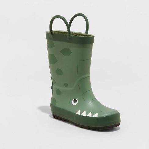 Toddler Boys' Barry Alligator Boots - Cat & Jack™ Green - image 1 of 3