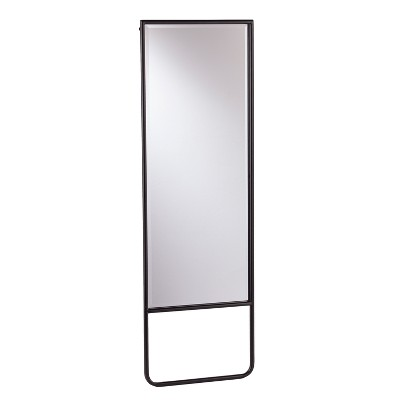 """62"""" x 20"""" Lewis Leaning Floor Mirror Black - Holly & Martin"""