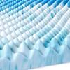 "4"" Reversible Memory Foam Mattress Topper - Comfort Revolution - image 4 of 4"
