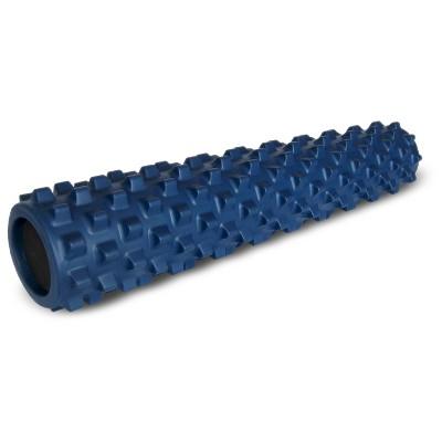 """Rumble Roller Original Density Deep Tissue Massage Foam Roller 31/"""" x 6/"""" Blue"""