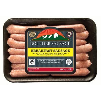 Boulder Sausage Breakfast Sausage Links - 14oz