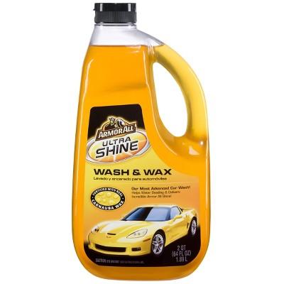 Armor All 64oz Ultra Shine Wash and Wax Automotive Wash