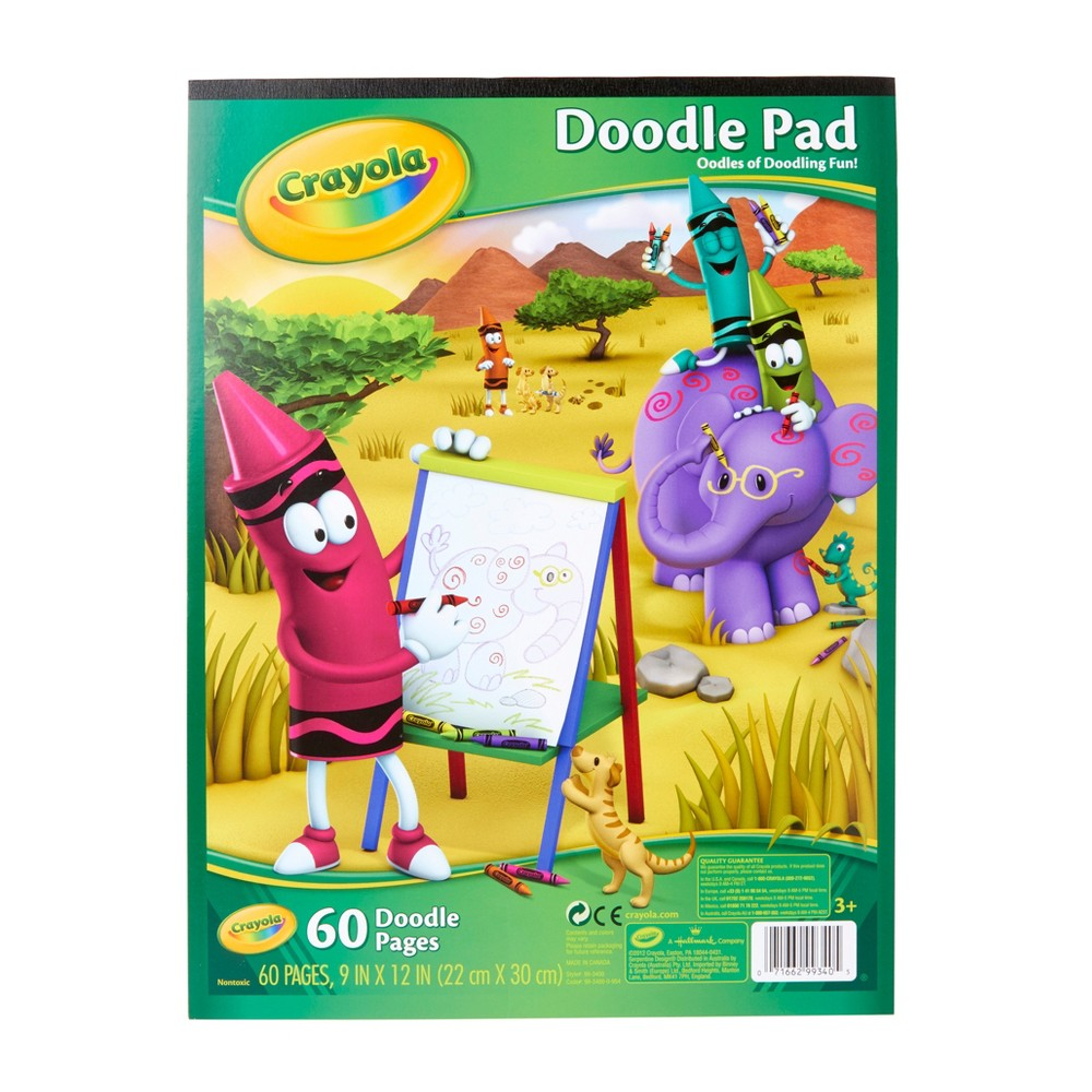Crayola Doodle Pad 60pgs, White