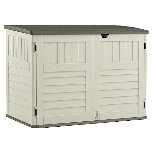 Stow Away Horizontal Shed - Soft Taupe - Suncast - image 1 of 4