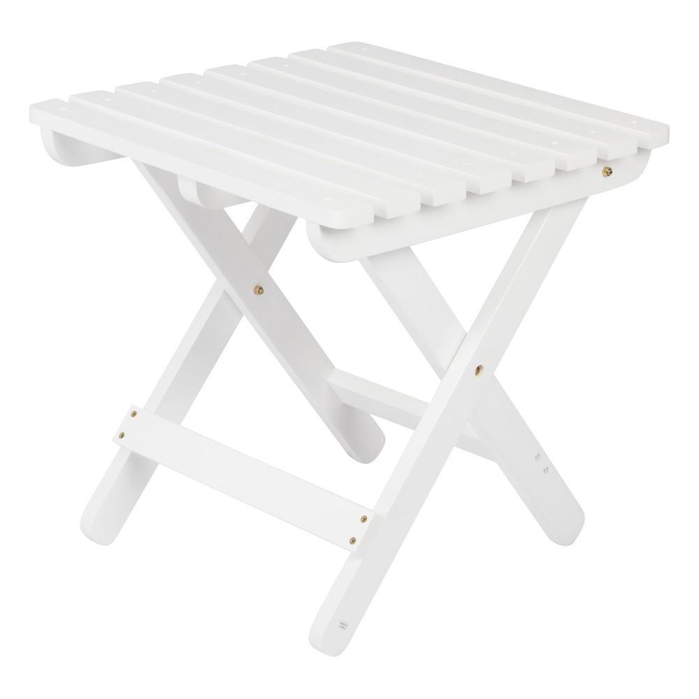 Image of Adirondack Folding Table - White