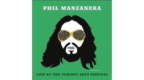 Manzanera - Live At The Curious Arts Festival (CD) - image 1 of 1