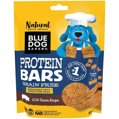 Blue Dog Bakery Protein Bar Bacon Dog Treats - 5oz