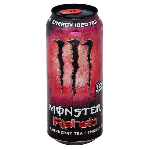 Monster Rehab, Raspberry Tea + Energy - 16 fl oz Can - image 1 of 1