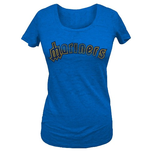 Seattle Mariners Women's Scoop Neck T-Shirt XL - image 1 of 1