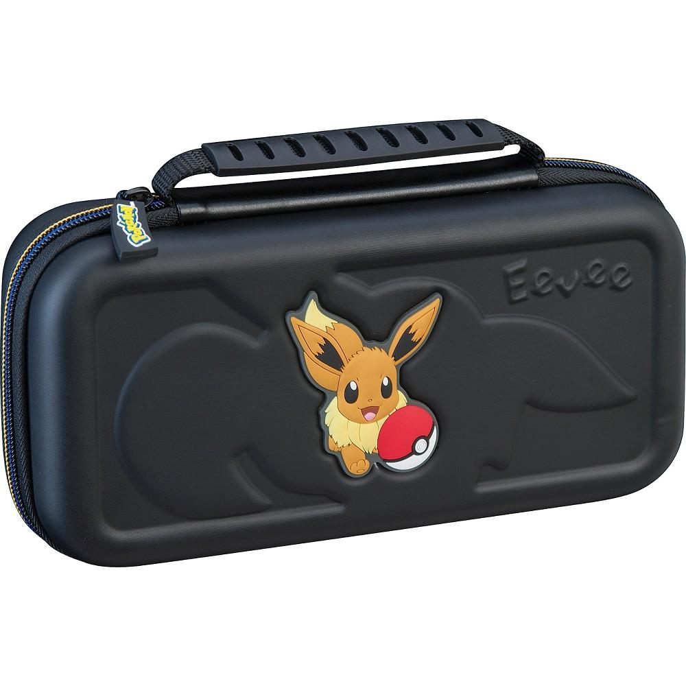 Nintendo Switch Pokemon Game Traveler Carrying Case - Eevee, Black Nintendo Switch Pokemon Game Traveler Carrying Case - Eevee Color: Black.