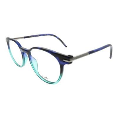 Marc Jacobs  TML Unisex Round Eyeglasses Havanablueaqua 48mm