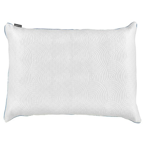 Cool Luxury Pillow Protector with Zipper Closure - Tempur-Pedic - image 1 of 3