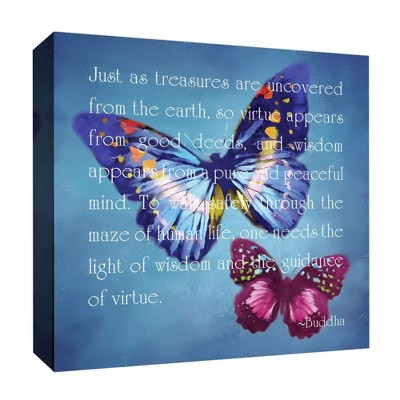 "16"" x 16"" Just As Treasures Decorative Wall Art - PTM Images"