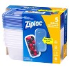 Ziploc Small Rectangle Containers - 5ct - image 3 of 4