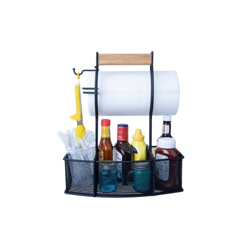 BBQ Caddy Black - Superior Trading Co. - image 1 of 4
