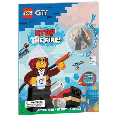 Lego(r) City: Stop the Fire! - (Activity Book with Minifigure) (Paperback)
