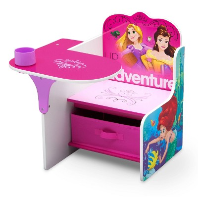Disney Princess Chair Desk with Storage Bin - Delta Children
