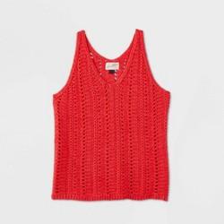 Women's V-Neck Sweater Tank Top - Universal Thread™