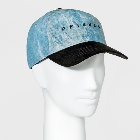Women s Friends Baseball Hat - Denim Blue   Target c5718a00c7c4