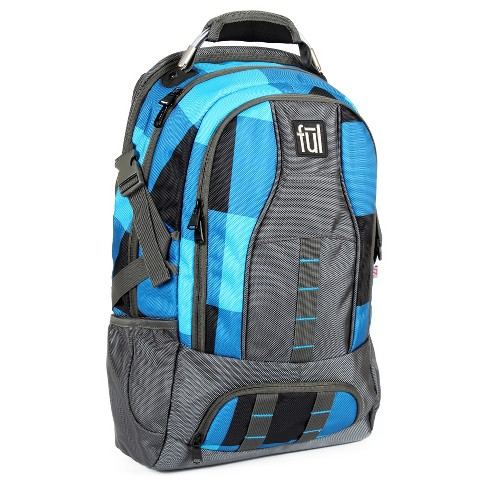 FUL® Kosmo Backpack - Blue Checker - image 1 of 5