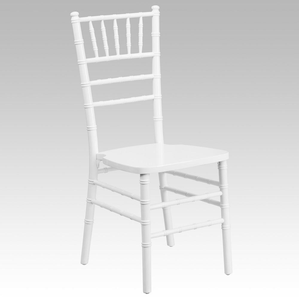 Riverstone Furniture Collection Chiavari Chair White