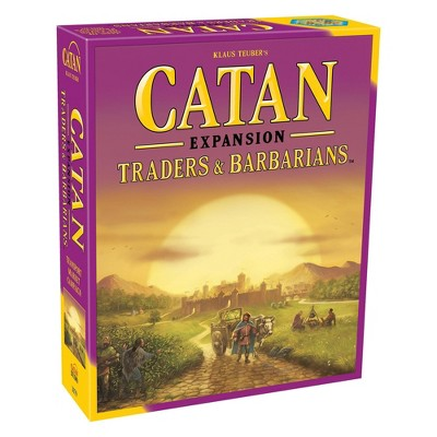 Catan Traders & Barbarians Board Game