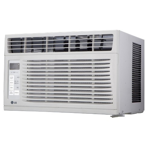 LG - 6000-BTU 115V Window-Mounted Air Conditioner with Remote Control - White - image 1 of 3
