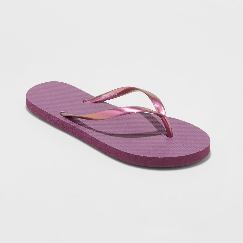 Women's Letty Flip Flop Sandal - Xhilaration Purple 8