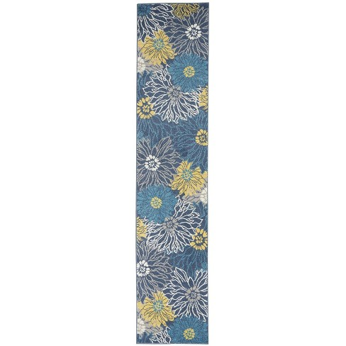 Nourison Passion PSN17 Blue Indoor Area Rug - image 1 of 4