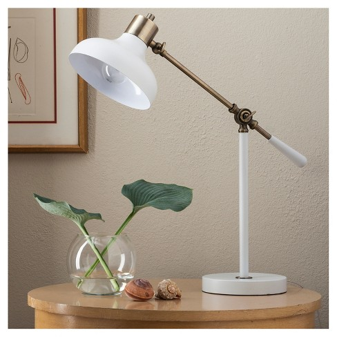 Crosby Schoolhouse Desk Lamp White Threshold